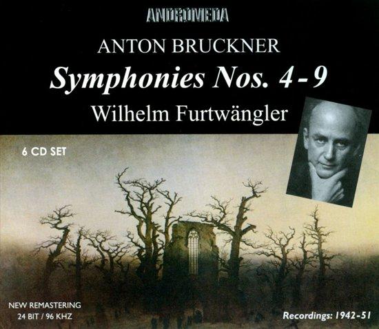 Bruckner: The Symphonies No 4 ,5, 6