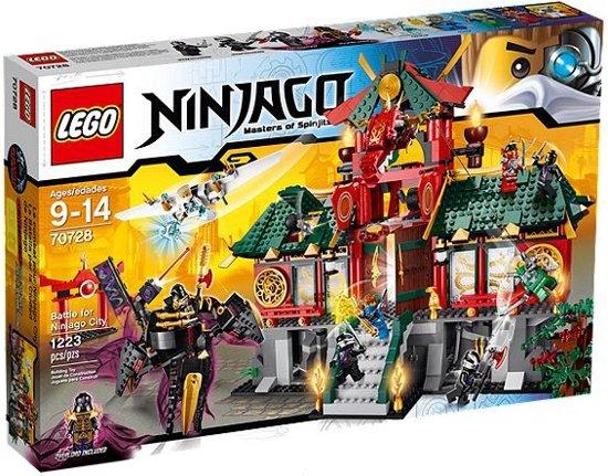 LEGO NINJAGO De Slag om Ninjago City - 70728