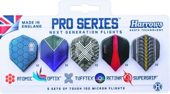 Harrows Flight Pro Choice Set - 5x3 stuks