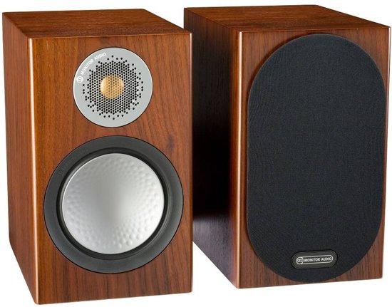 Monitor Audio Silver 50 - Boekenplank Speaker - Walnoot (Prijs Per