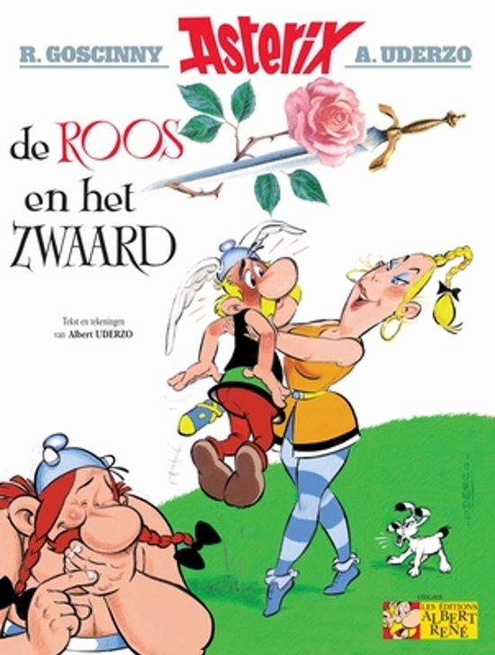 Boek cover Asterix 29 - De roos en het zwaard van Albert Uderzo (Paperback)