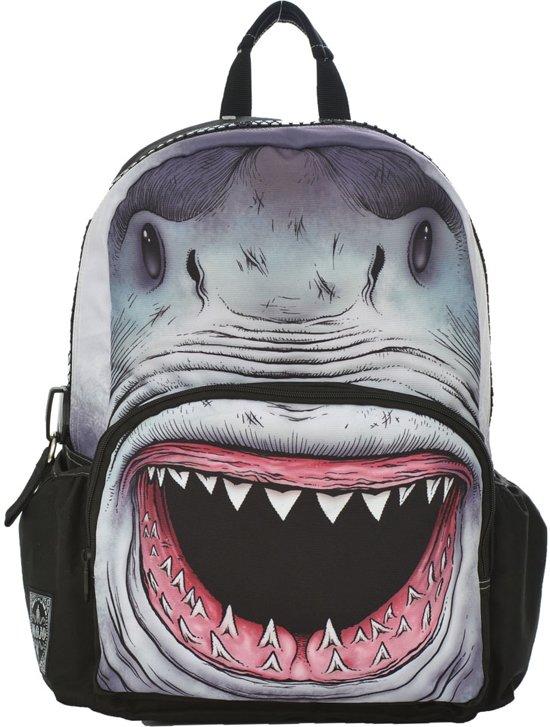 6ec85241d6a bol.com | Mojo Backpacks - Rugzak - Shark Print