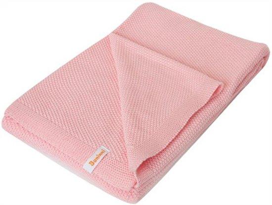 Baninni Pipa dot - Wiegdeken 75x100 cm - Roze
