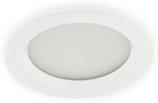 bol.com | LED Inbouwspot 5W, Wit, Rond, Waterdicht IP65, Badkamer ...