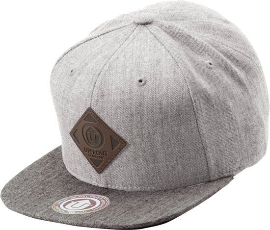 Upfront Off Spring - Cap - grijs combi - One size