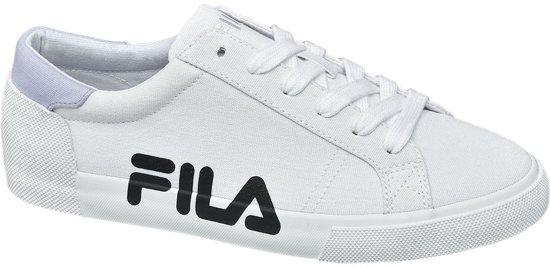 96d68fde955 bol.com | Fila Dames Witte canvas sneaker - Maat 41