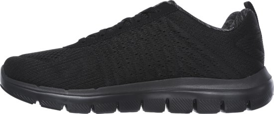 Advantage 0 Heren Flex 2 Black Skechers Sneakers 5t1qw