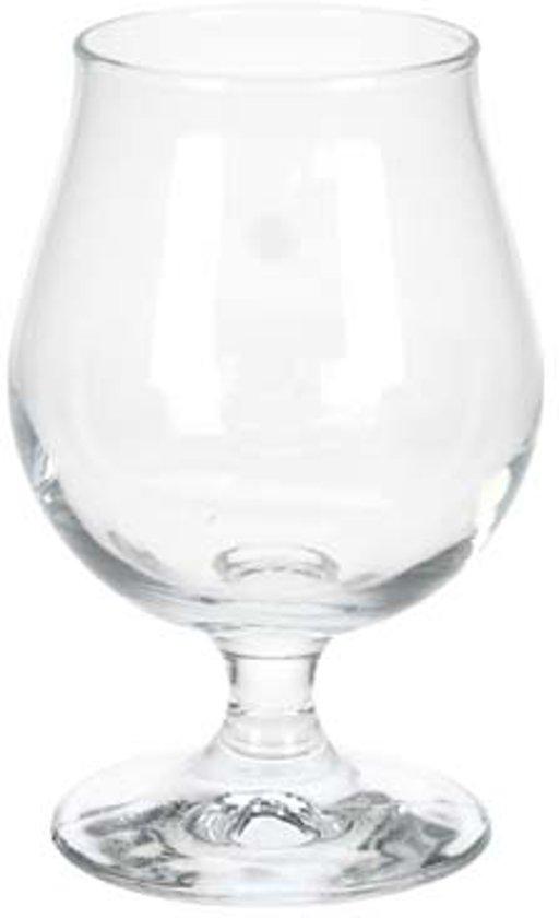 Durobor Breughel Bierglas en Ice tea glas - Op voet - 36 cl - 6 Stuks Valentinaa