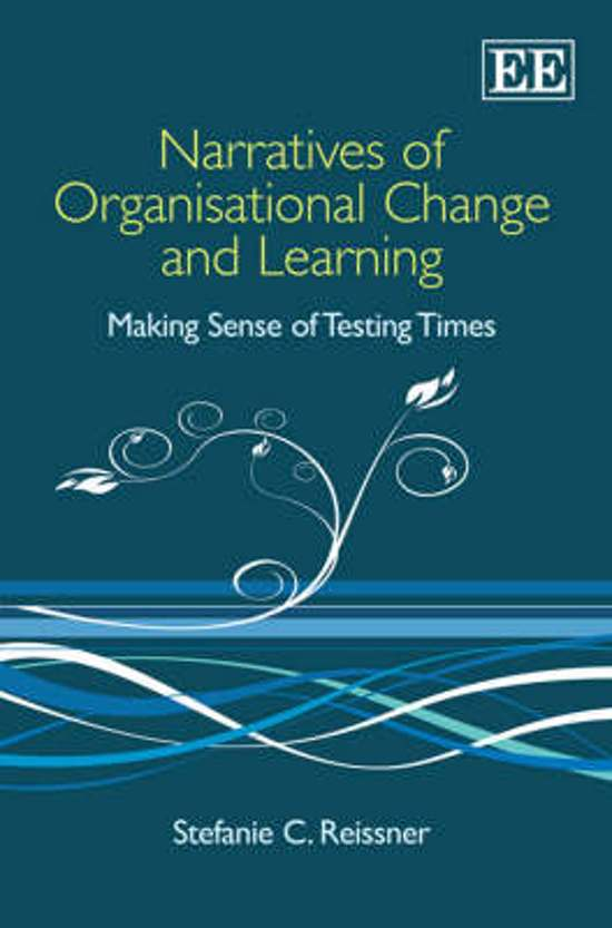 Narratives of Organisational Change and Learning
