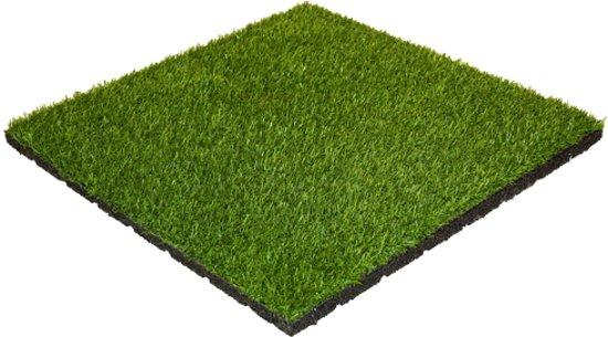 Kunstgras Op Tegels : Bol.com rubber tegel met kunstgras toplaag 30 mm 50x50 cm