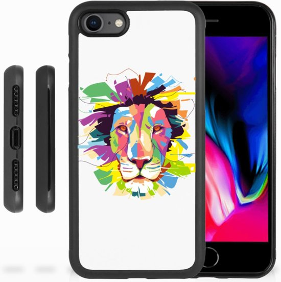 iPhone 8 Backcover Lion Color