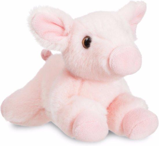 Pluche varken/big knuffel 28 cm