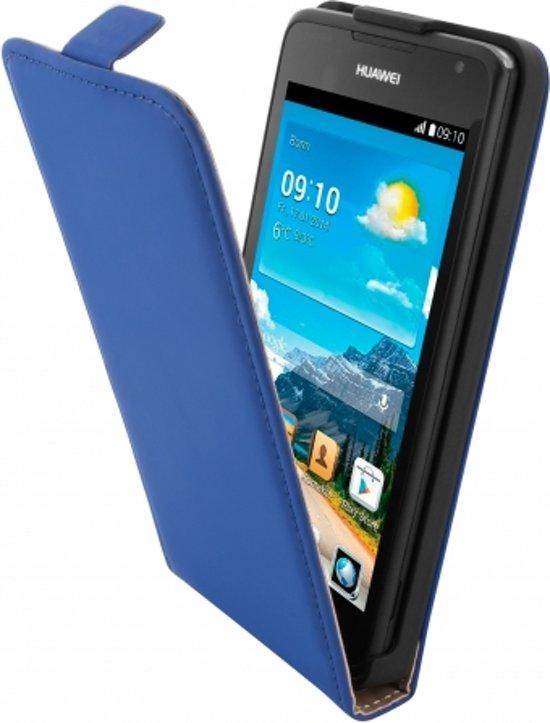 Mobiparts Premium Flip Case Huawei Ascend Y530 Blue in Nieuwkerken-Waas