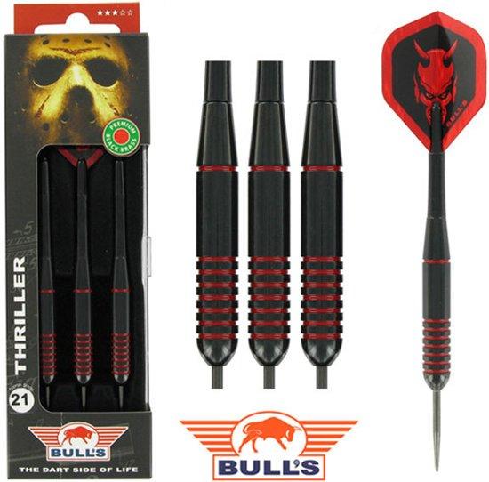 BULL'S Thriller Black Brass dartpijlen 21 - 23 gram - 23 gram