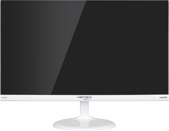 Hannspree Hanns.G HS246HFW 23.6'' Full HD Mat Wit computer monitor LED display
