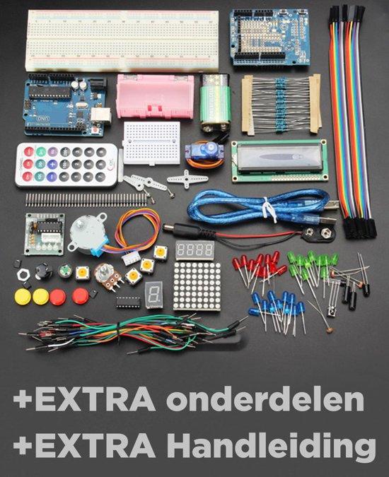 Een aanrader arduino starter kit genuino v uno r