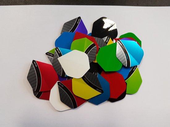 10 sets (30 stuks) Dragon darts Curve/poly dart flights - darts flights - multipack