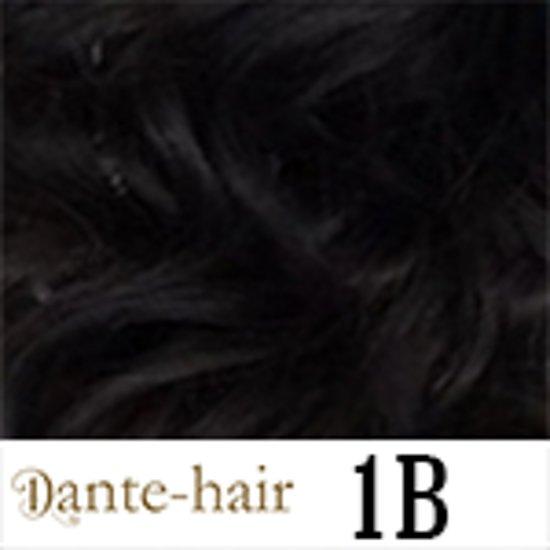 Dante-Clips 16''/42cm kleur 1B Black Brown
