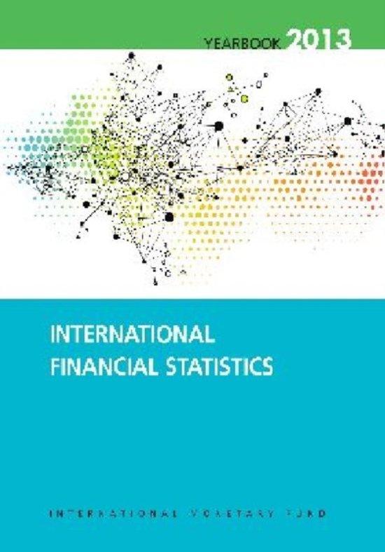 International financial statistics yearbook 2013