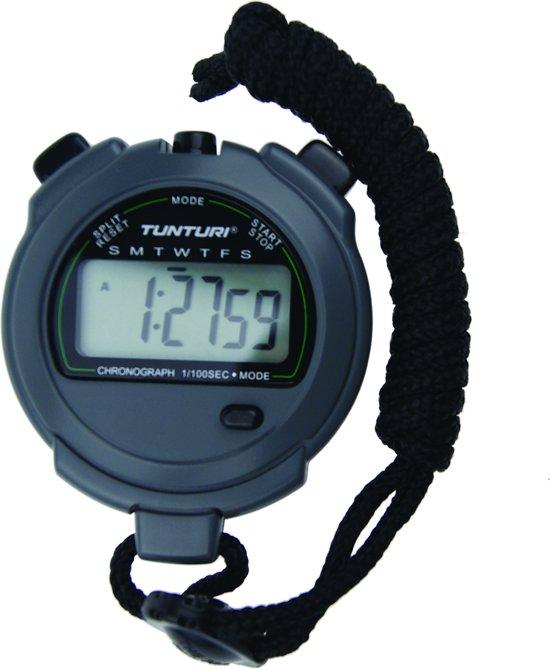 Tunturi - Stopwatch - Digitale Stopwatch - Sport stopwatch - Met 2 Geheugens Voor Tijd