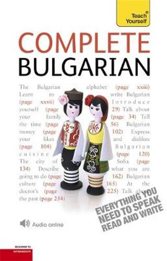 Afbeelding van Complete Bulgarian: Teach Yourself