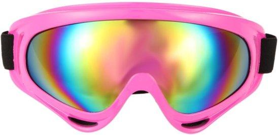 skibril wintersport/ snowbril (roze)
