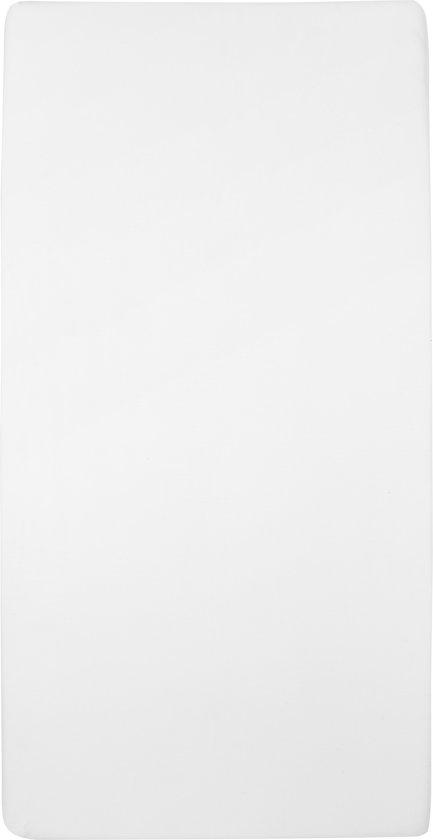 Meyco jersey hoeslaken - 60 x 120 cm - wit