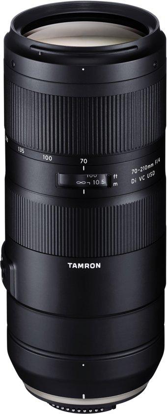 Tamron 70-210mm F4.0 Di VC USD MILC/SLR Telelens Zwart