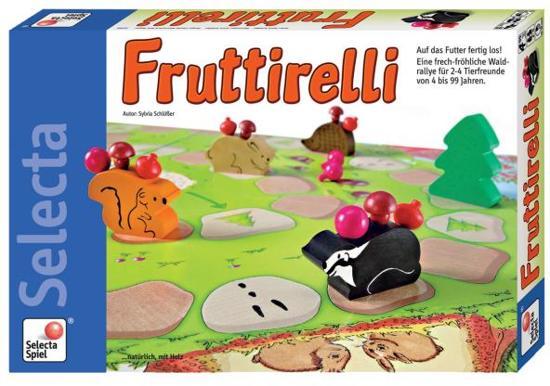 Fruttirelli - Bordspel