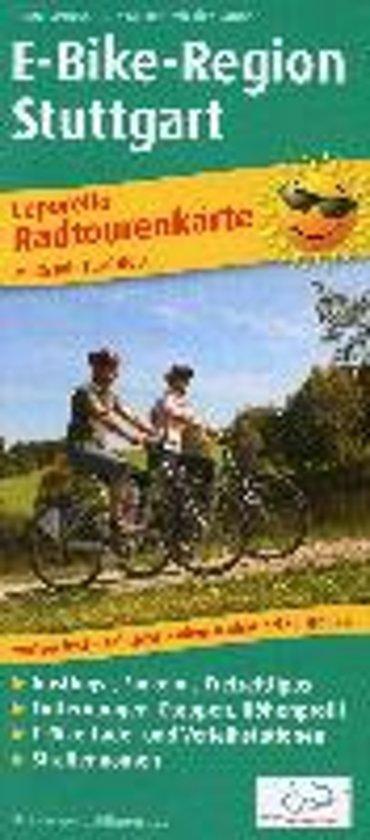 Radwanderkarte Leporello E-Bike-Region Stuttgart 1 : 50 000