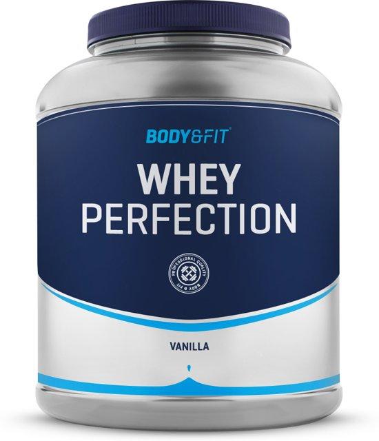 Body & Fit Whey Perfection - Eiwitpoeder / Eiwitshake - 2270 gram - Vanilla milkshake