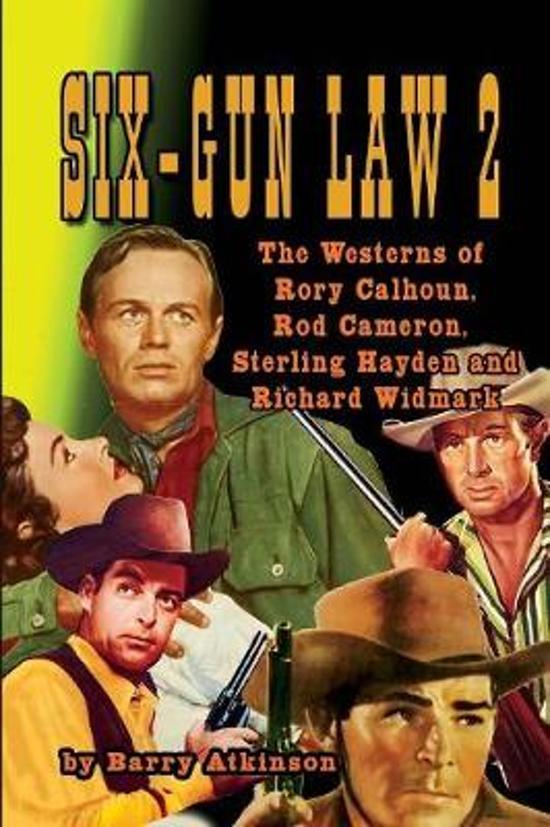 Boek cover SIX-GUN LAW Volume 2 van Barry Atkinson (Paperback)