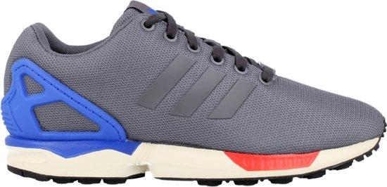 adidas zx flux grijs blauw