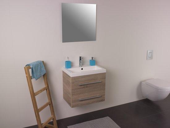 Bol.com trend graven badmeubel met standaard spiegel