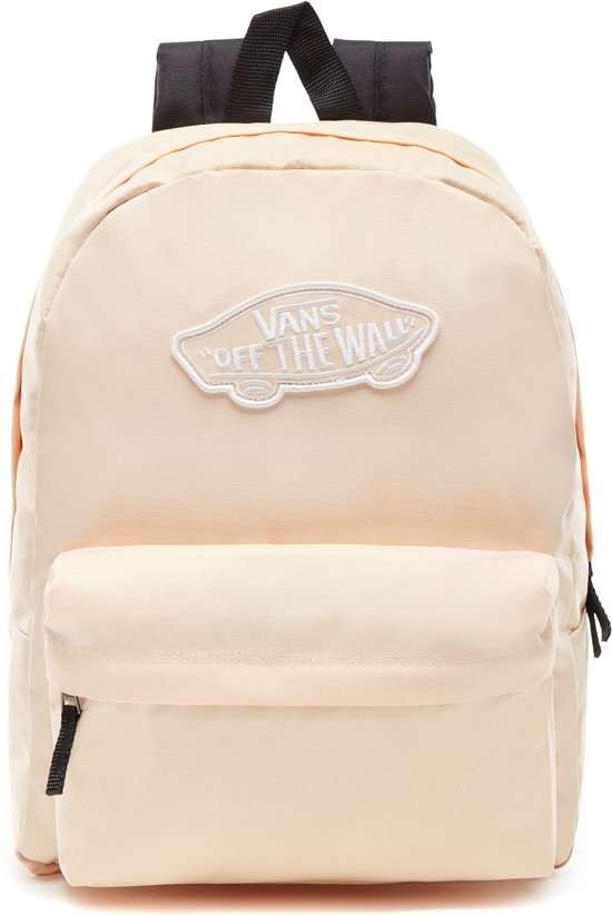 a9d77cbbabf bol.com | Vans Realm Backpack Rugzak Vrouwen - Bleached Apricot