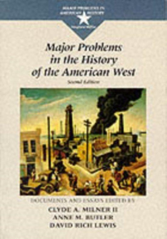 american west essay