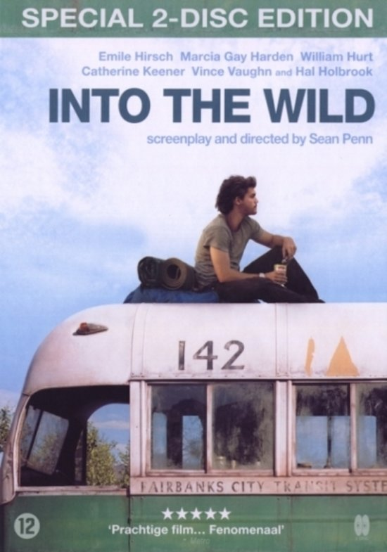 Cover van de film 'Into The Wild'