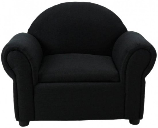 Fauteuil Stof Antraciet.Bol Com Teddy Fauteuil Antraciet Stof Hout