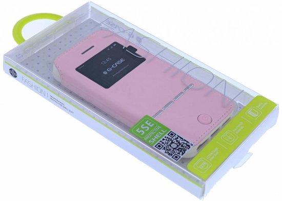 Hoesje Met Licht : Bol g case licht roze window viewer shell suit hoesje voor