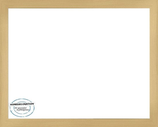 Homedecoration Misano – Fotolijst – Fotomaat – 54 x 88 cm  – Beuken