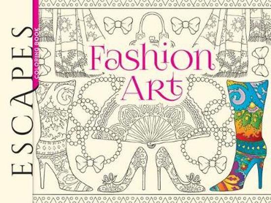 ESCAPES Fashion Art Coloring Book