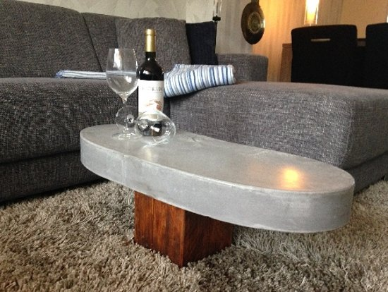 Salontafel Van Beton : Bol.com betonnen salontafel colorado