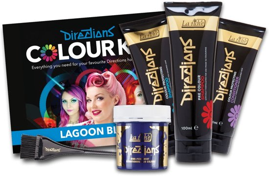 La Riche Directions Colour Kit Lagoon Blue - Haarverf