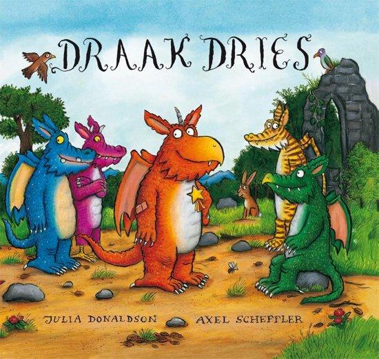 Boek cover Draak Dries van Julia Donaldson (Hardcover)