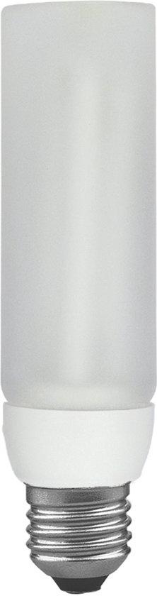ESL DecoPipe recht 11W E27 Warmwit
