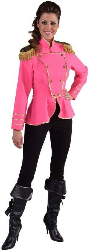 1aa4506af5c652 Roze Uniform jasje - Circus directeur jas voor dames- maat 38 40 (M