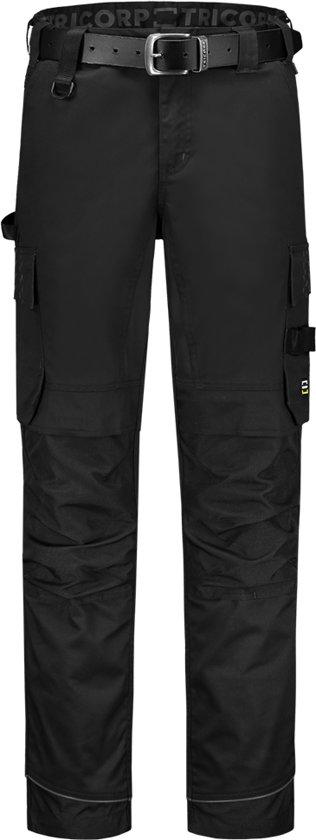 Tricorp Werkbroek Twill Cordura Stretch 502020 Zwart - Maat 48