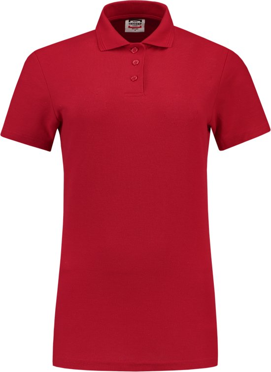 201010 Poloshirt L Dames Tricorp Maat Casual Rood q5S4Wt4