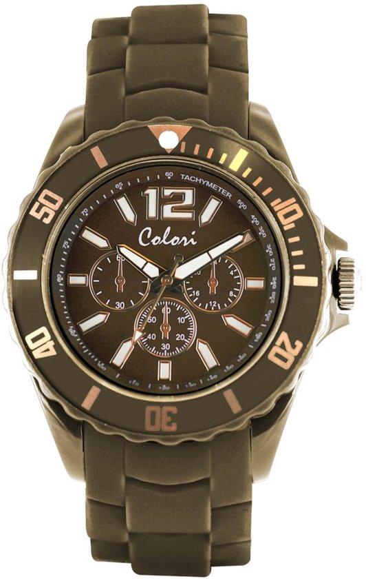 Colori 5-COL252 - Horloge - Groen - Ø 44 mm
