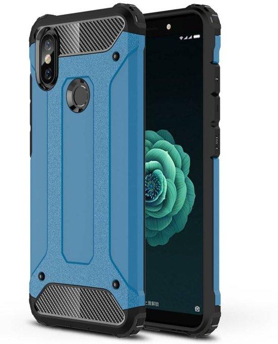 Lunso - Armor Guard hoes - Xiaomi Mi A2 - lichtblauw